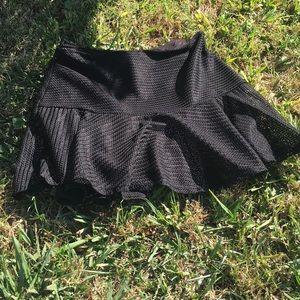***SOLD***Guess black mesh mini skirt